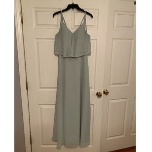 Azazie Sage Green Dress